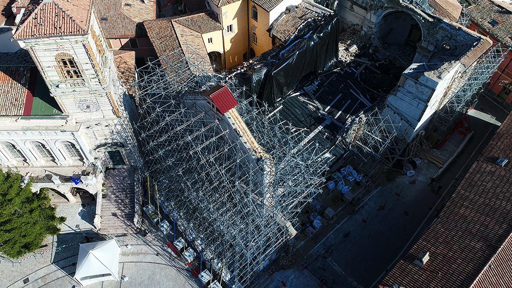 Mons. Renato Boccardo ricorda i tre anni dal terremoto in Centro Italia