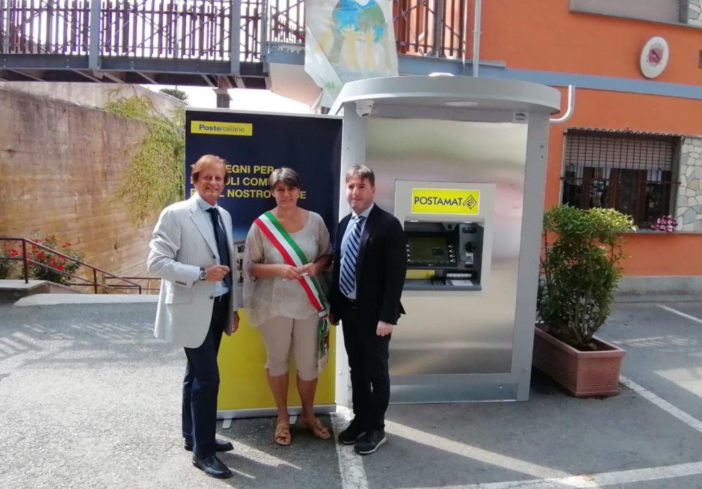 Inaugurato il Postamat di Valgioie, ma quello di Giaveno è ancora fuori uso