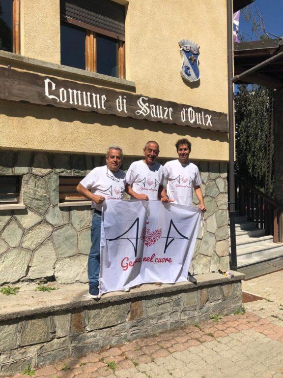Sauze d'Oulx ricorda le vittime del Ponte Morandi di Genova