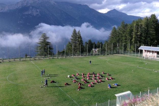 Il Torino Calcio Under 17 gioca a Bussoleno