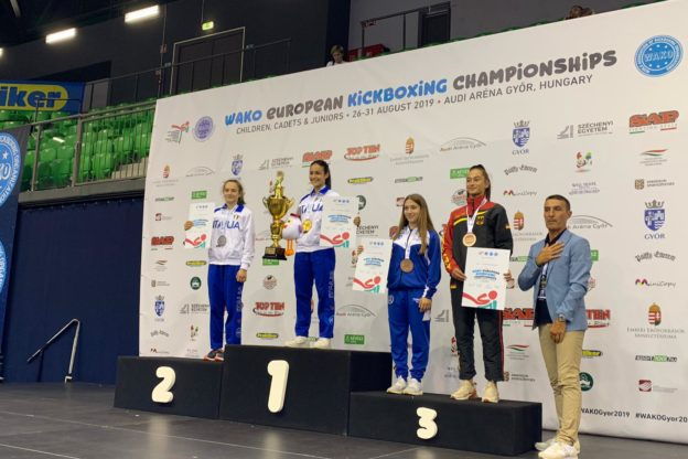 Kickboxing, la giavenese Carlotta Bonetto conquista l'argento europeo