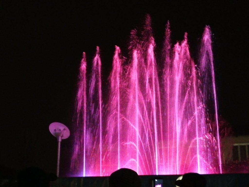 Venerdì 13 settembre tornano le Fontane luminose a Sangano