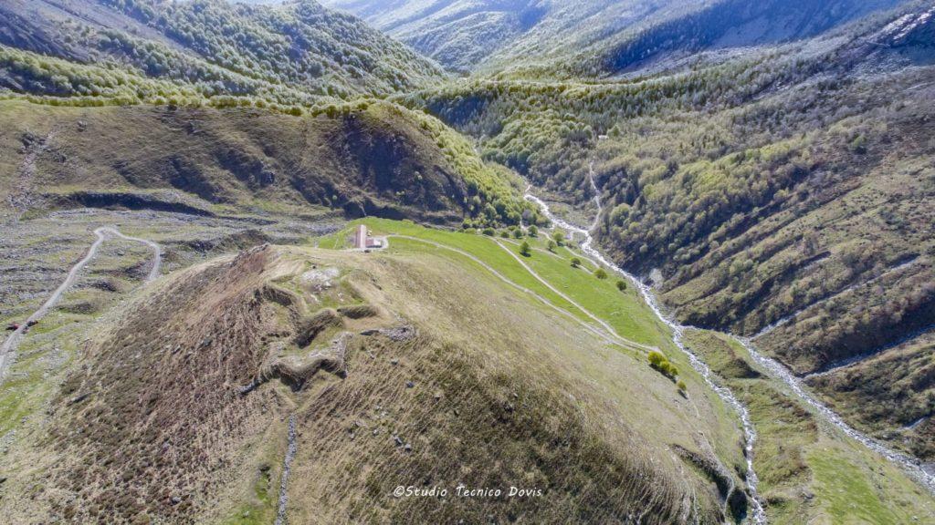 Coazze, un drone per riscoprire l'antico Forte di San Moritio