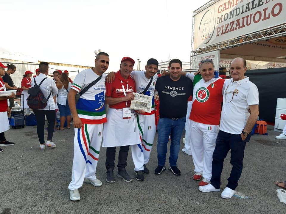 La pizza rubianese di Pino Galati alla conquista di Napoli
