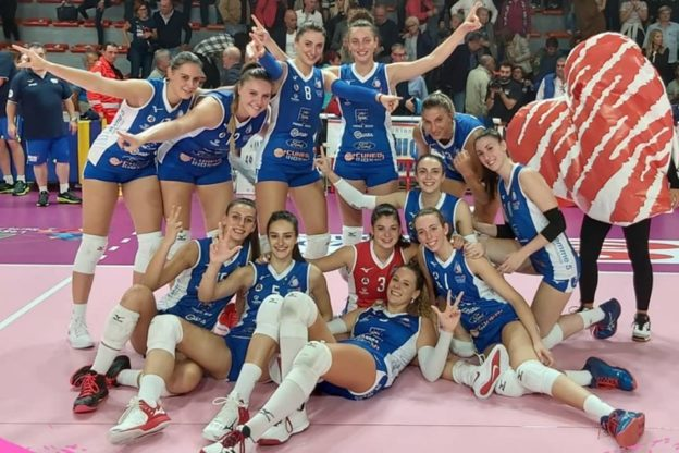Esordio col botto per l'Union Volley in Serie A2 Femminile di Volley
