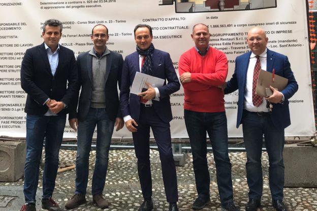 Il presidente della Regione Cirio ha visitato il Comune di Susa
