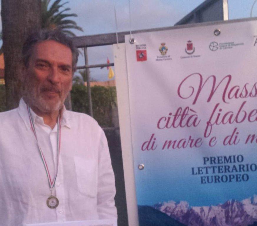 Il giavenese Rolando premiato a Massa per un racconto di 100 parole