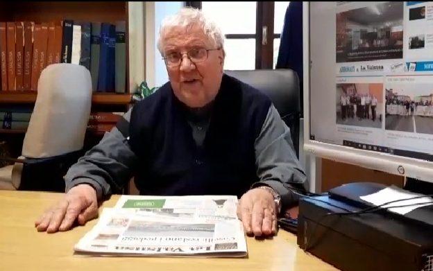 Don De Faveri, direttore de La Valsusa, e l'informazione al tempo del Covid- 19- Video