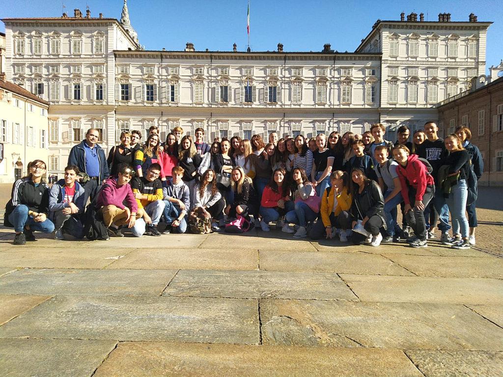 Studenti olandesi in visita all'Istituto Galilei di Avigliana