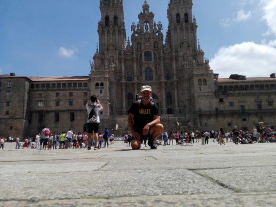 Luciano Lucco Borlera a Santiago de Compostela