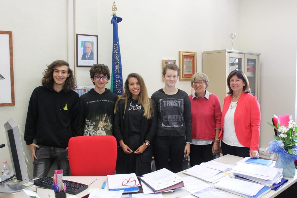 Quattro studenti del Pascal di Giaveno alla Normale e alla Scuola Superiore Sant'Anna di Pisa