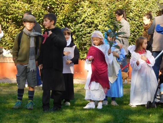 Sangano, i bimbi dell'Oratorio Don Bosco si vestono da Santi