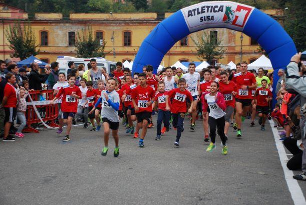 Domenica 6 ottobre c'è la StraSusa, gara podistica di 5 chilometri