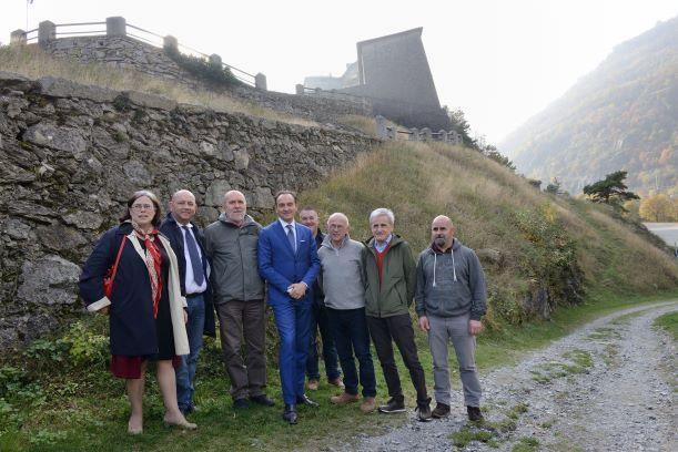 Il Forte di Exilles è ora proprietà della Regione Piemonte