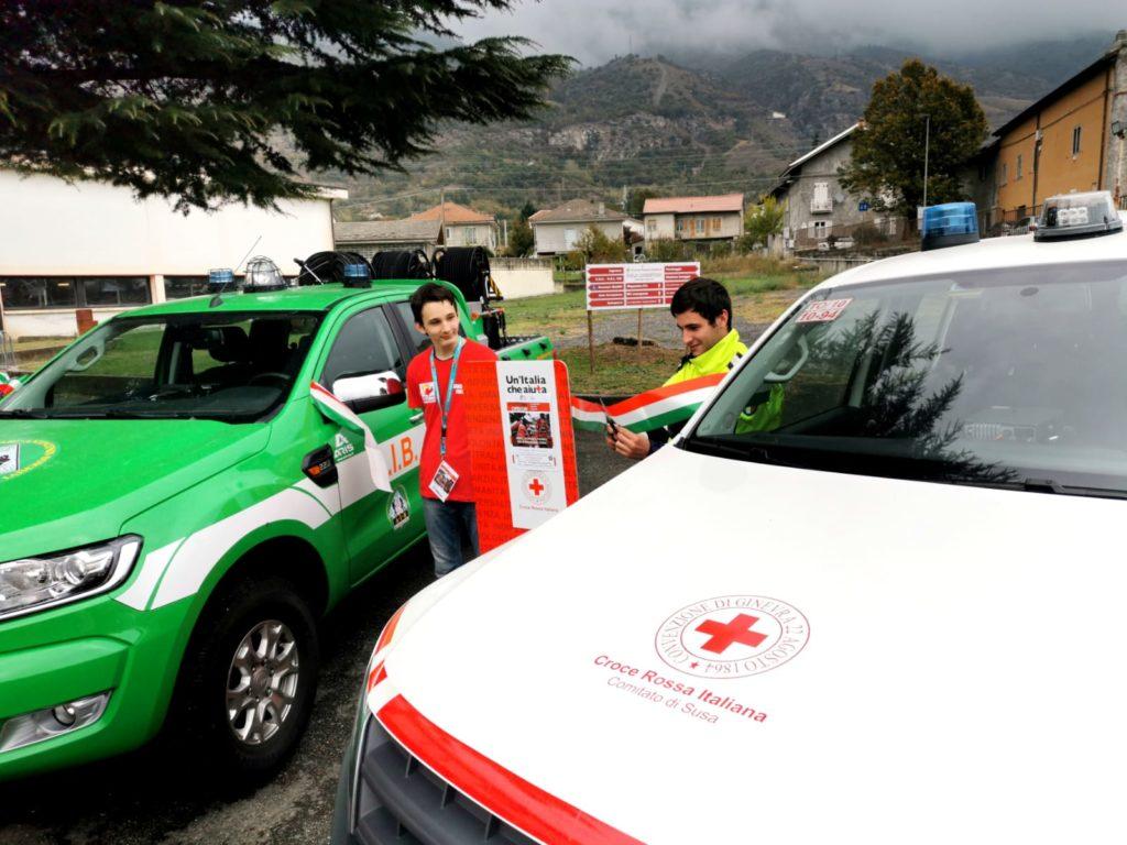 Bussoleno: nuovi mezzi per la Croce Rossa e per i volontari Aib