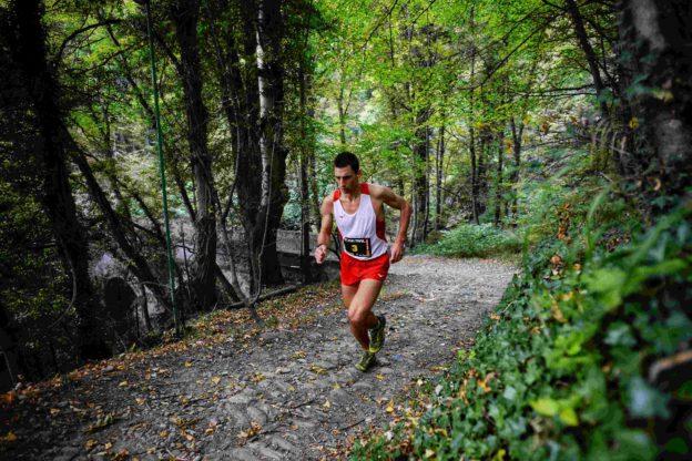 condove - il vincitore Andrea Pelissero (Toma Trail)