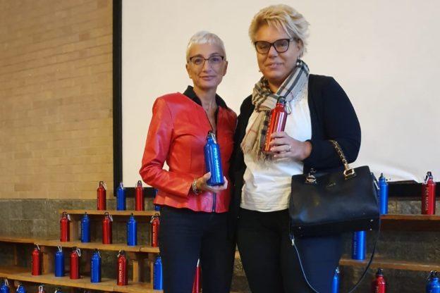 Al Maria Ausiliatrice di Giaveno sono arrivate 400 borracce ecologiche