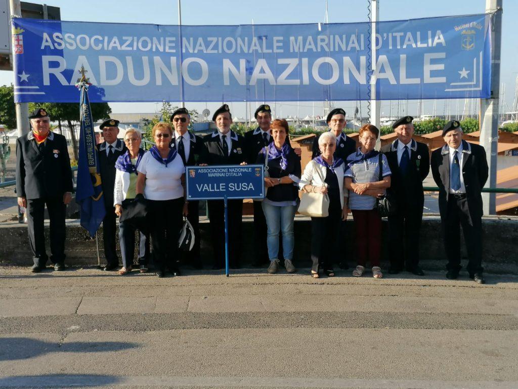 I Marinai valsusini a Salerno per il loro Raduno Nazionale