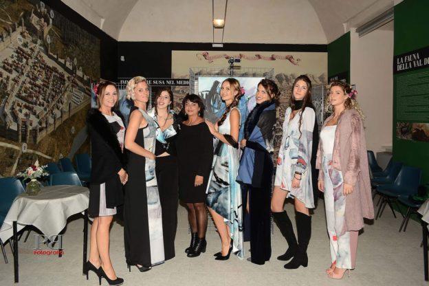 Dietro le quinte di una sfilata di moda con la valsusina Rosy Signorello