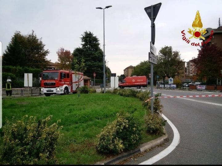 Rivoli, fuga di gas in corso Torino