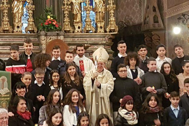 Susa, 37 ragazzi sono stati cresimati da Mons. Nosiglia in Cattedrale
