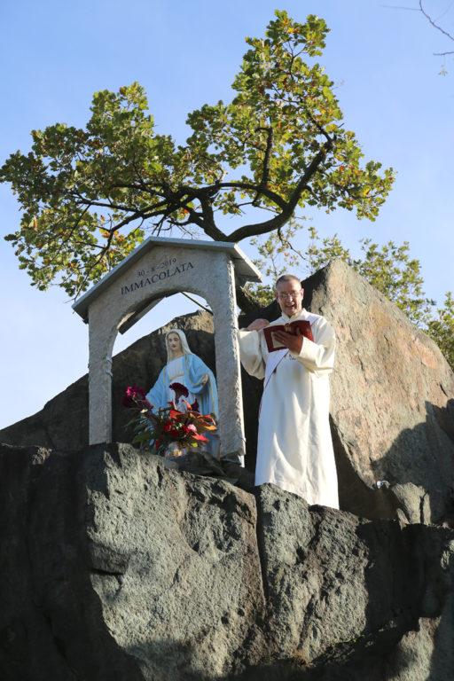 Una statua della Madonna veglierà sulle industrie di Avigliana