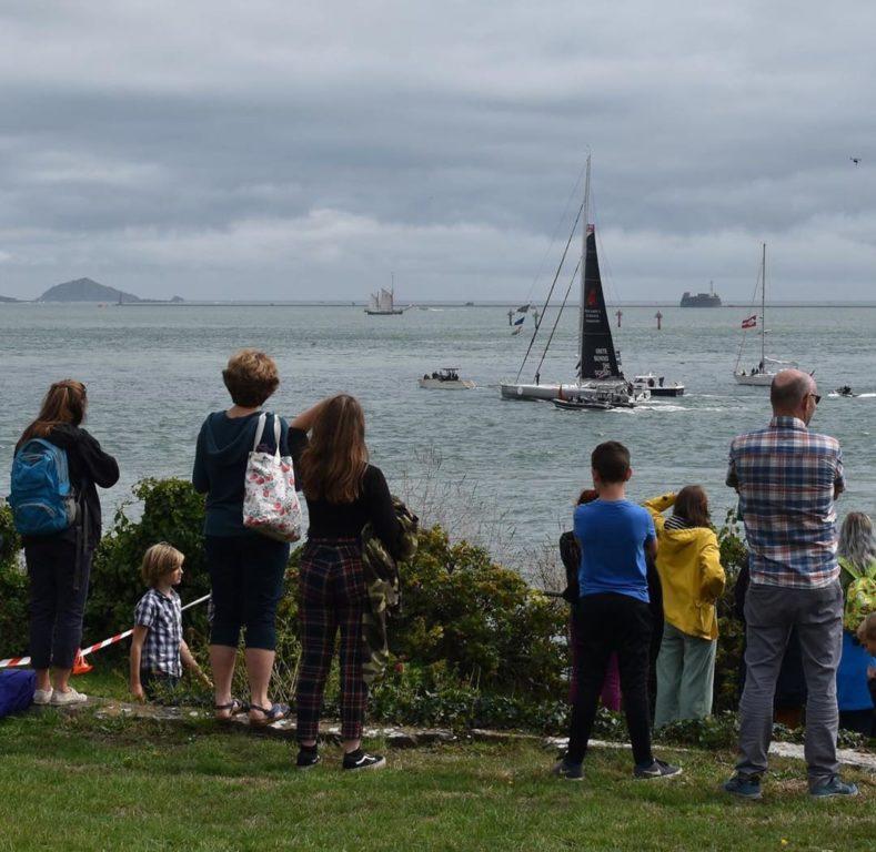 Una ragazza giavenese ha fotografato la partenza di Greta da Plymouth