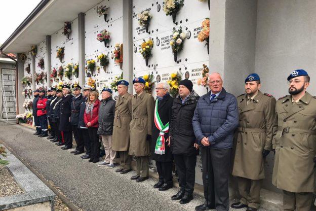L'Aviazione dell'Esercito rende omaggio alla tomba di Marco Matta