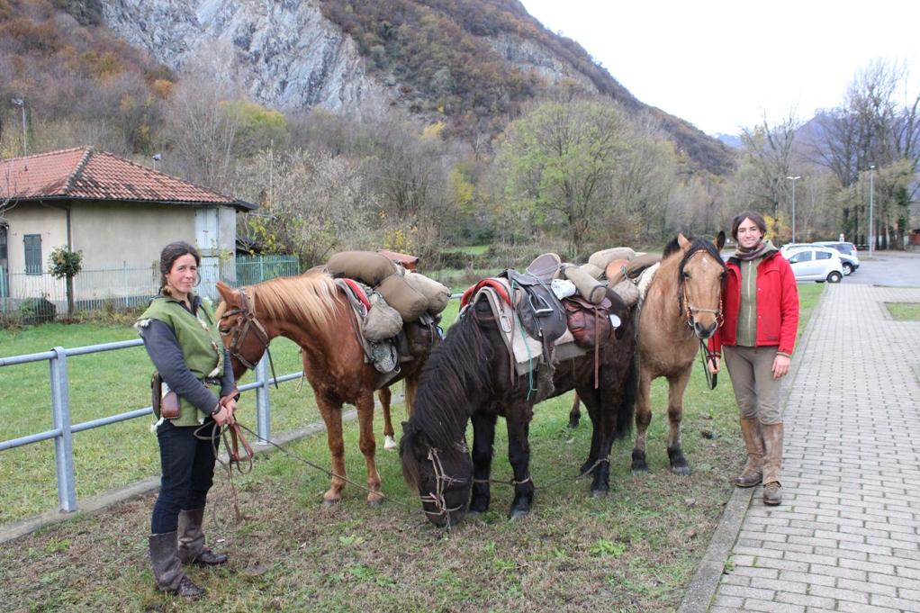 Paola Giacomini è tornata a casa, in Val di Susa