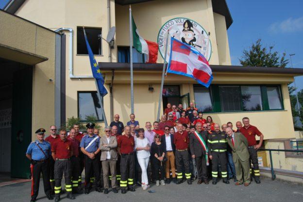 I Vigili del Fuoco di Giaveno ricordano i tre pompieri morti a Quargnento