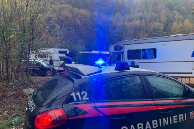 Rave party in Val di Susa: 117 giovani identificati – Foto e video