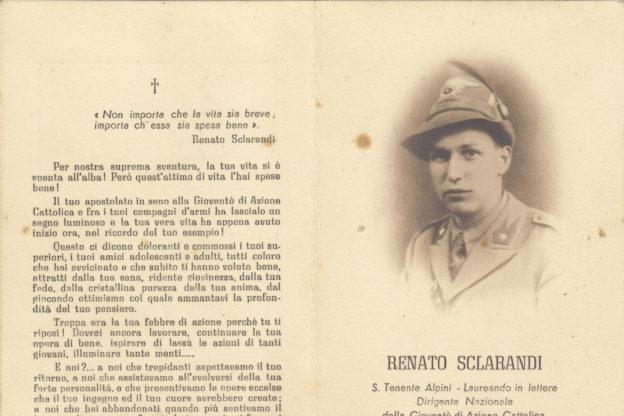 Sangano, una targa per ricordare l'Alpino Renato Sclarandi