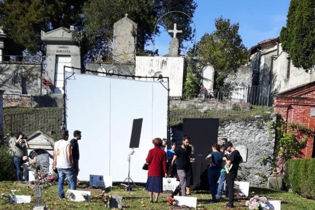"""Avigliana, """"Ciak! Si gira"""" nel cimitero monumentale"""