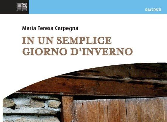 Giovedì 21 novembre uscirà il primo libro di Maria Teresa Carpegna
