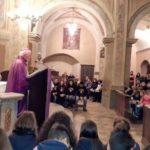 Mons. Nosiglia con i giovani e le comunità di S.Antonino e Rivera di Almese
