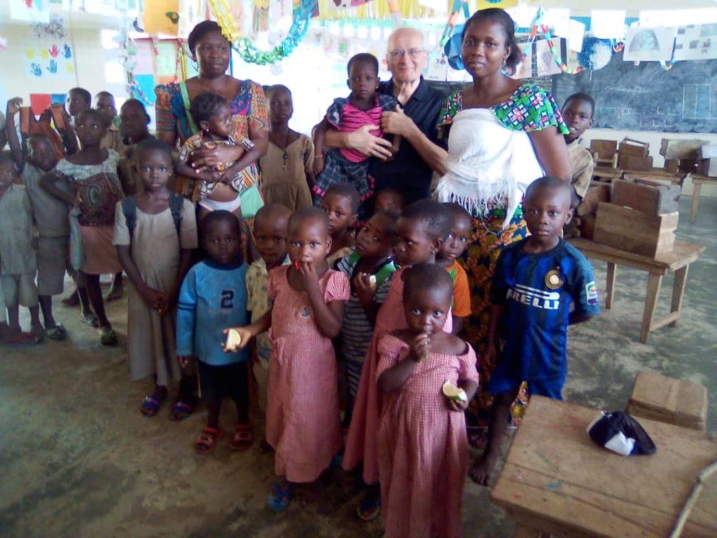 I volontari di Tengo al Togo sono tornati in Italia