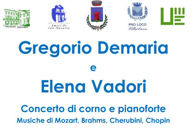Doppio appuntamento, domenica 8 dicembre a Villarbasse, con letteratura e musica