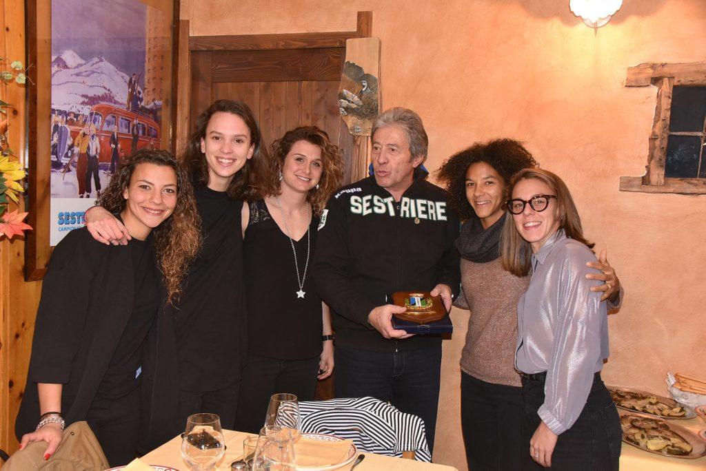 Sestriere: la Juventus Women festeggia il titolo di Campione d'Inverno