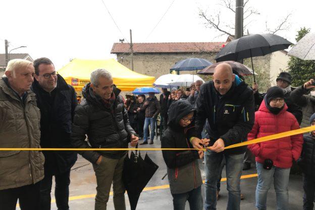Bruzolo, inaugurato sotto la pioggia il Mulino Valsusa