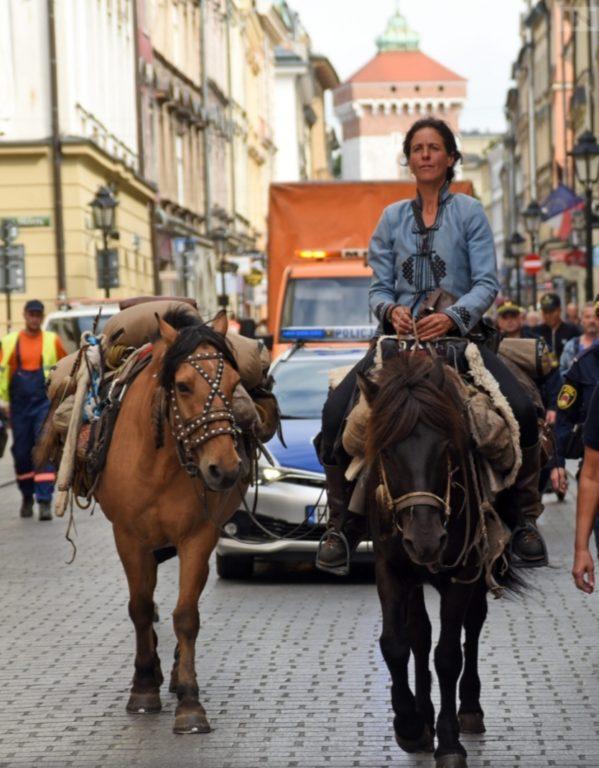 Da Harhorin a Cracovia nel nome della pace, il viaggio di Paola Giacomini