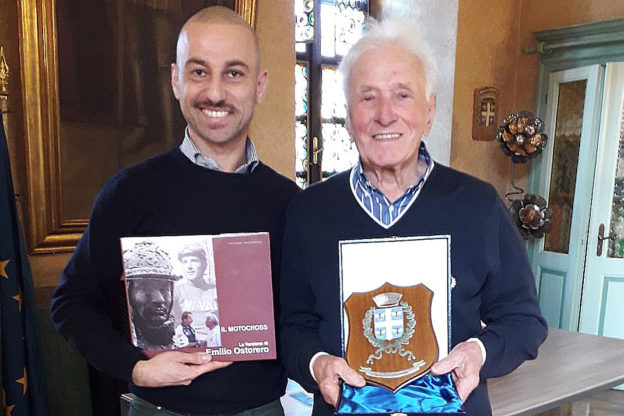 La leggenda del motocross Emilio Ostorero ha compiuto 85 anni