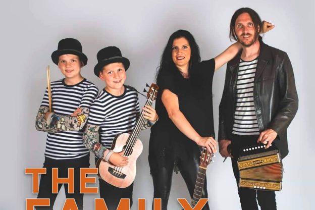 """Sangano, sabato 4 gennaio c'è la musica della """"The Family Band 4"""""""