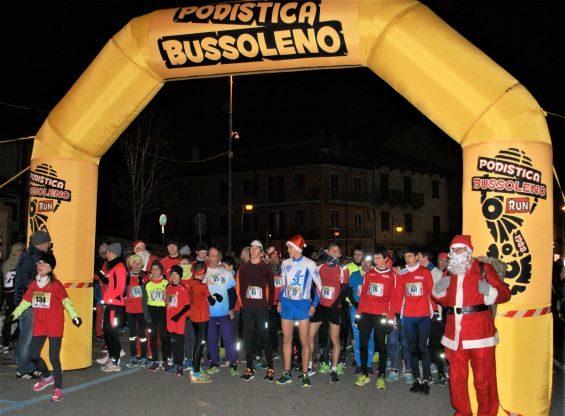 Bussoleno, sabato 14 dicembre torna la corsa Natal Notturna