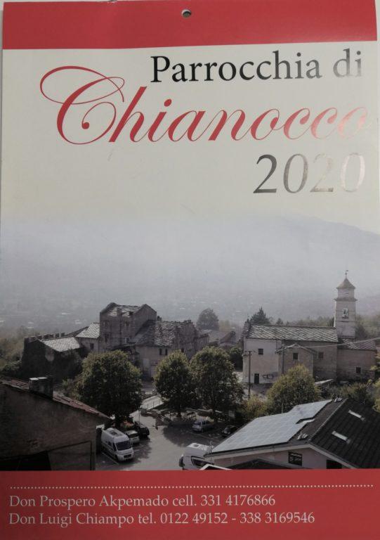 Calendario Parrocchia Chianocco