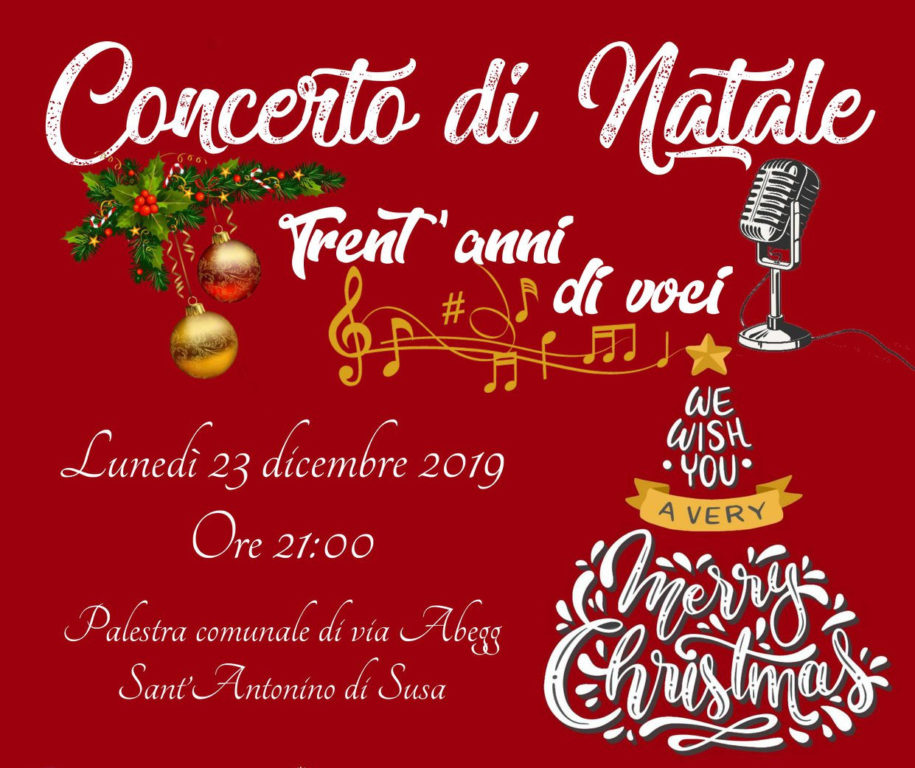 S.Antonino: lunedì 23 dicembre il concerto di Natale della Società Filarmonica