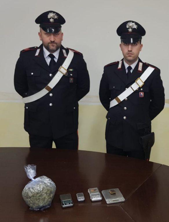 "Pianezza, i Carabinieri ""beccano"" uno spacciatore di hashish e marijuana"