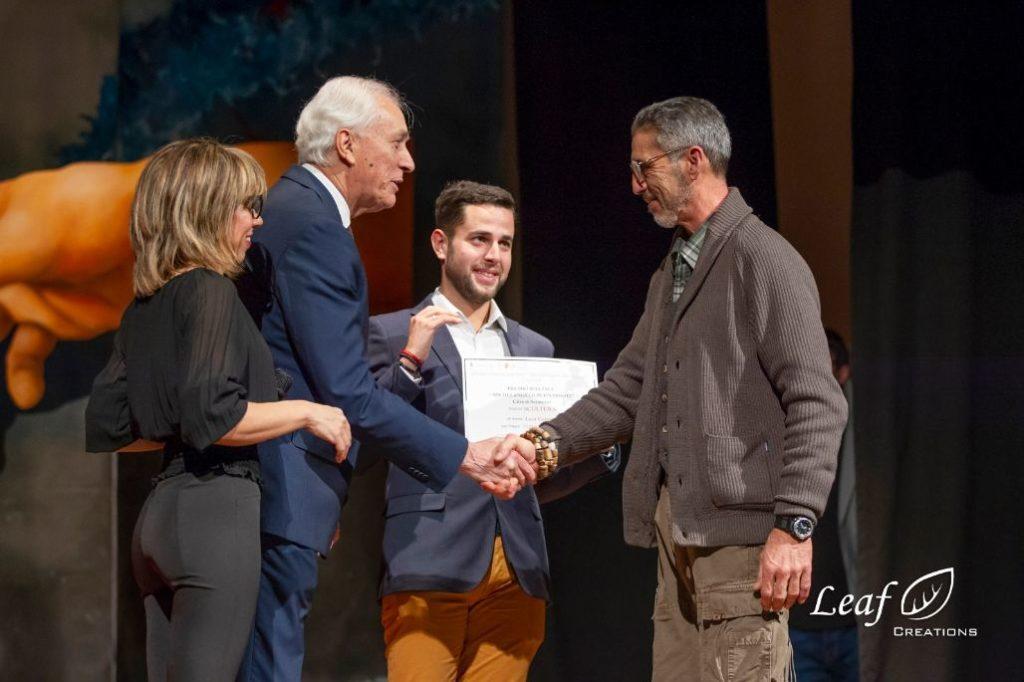 L'artista valsusino Luca Germena ha ricevuto il Premio Michelangelo