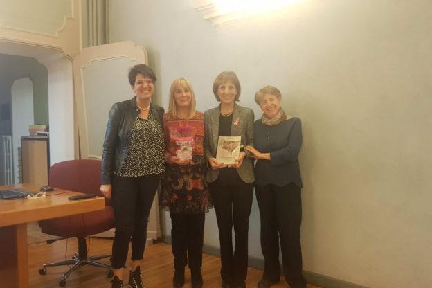 """S.Antonino, Bruna Bertolo ha presentato il suo libro """"Prime… sebben che siamo donne"""""""