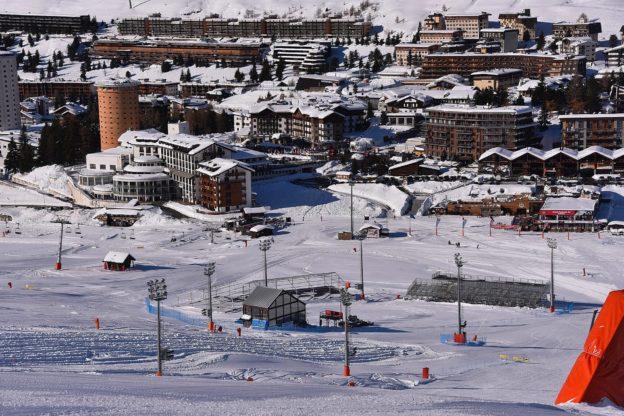 Sestriere. I nazionali di sci in allenamento
