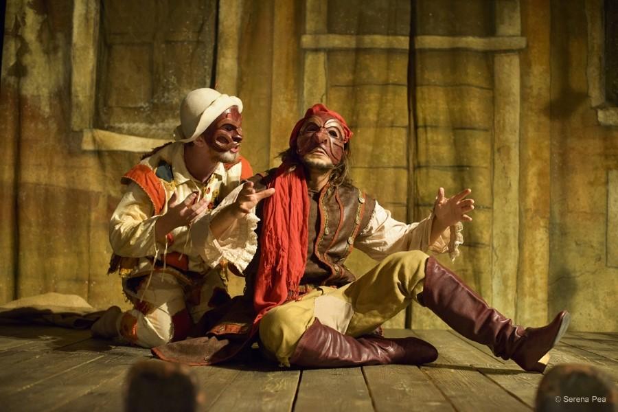 Rassegna-T 2020 parte con l'Arlecchino Furioso di Stivalaccio Teatro